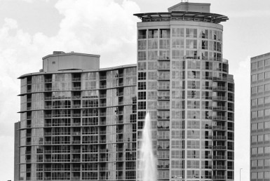 Waverly view from lake eola