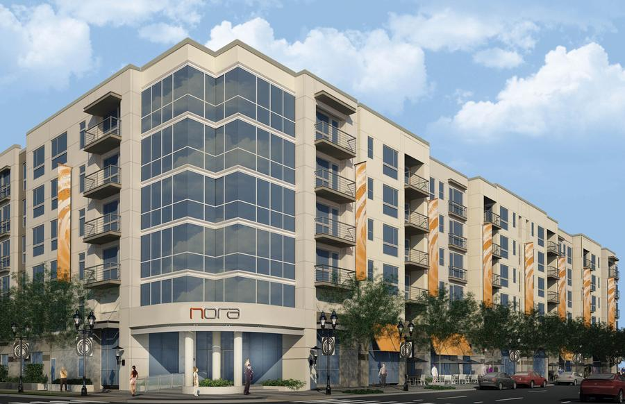 NORA – GDC Properties starts work on downtown midrise apartments