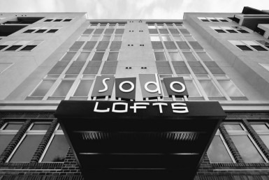SoDo Lofts Front Entrance