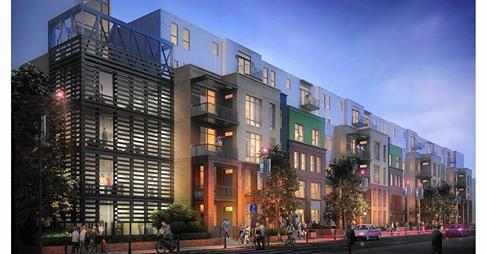 Shiny development planned for gritty Downtown Arts District